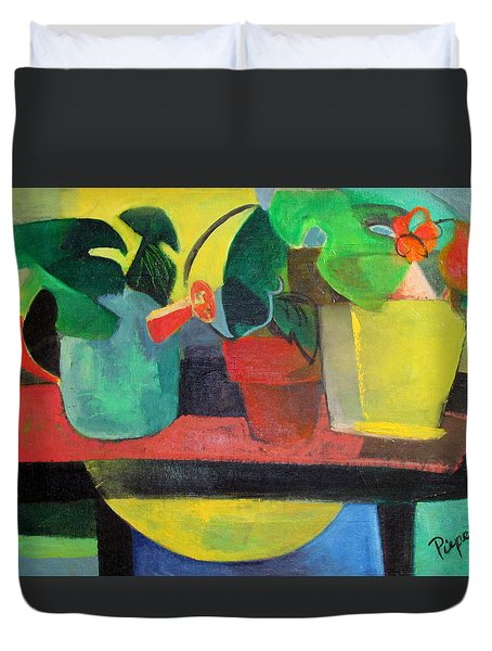 Cezanne Potting Stand Duvet Cover