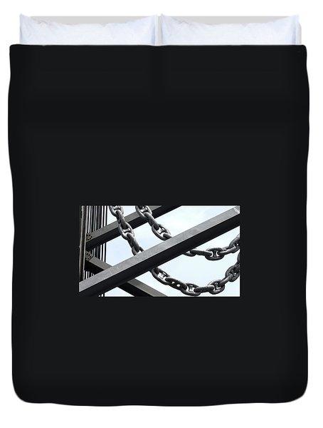 Chain Links Duvet Cover
