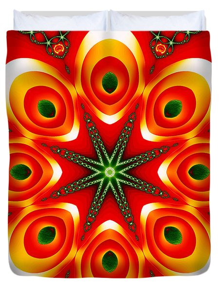 Chained Sunburst Duvet Cover