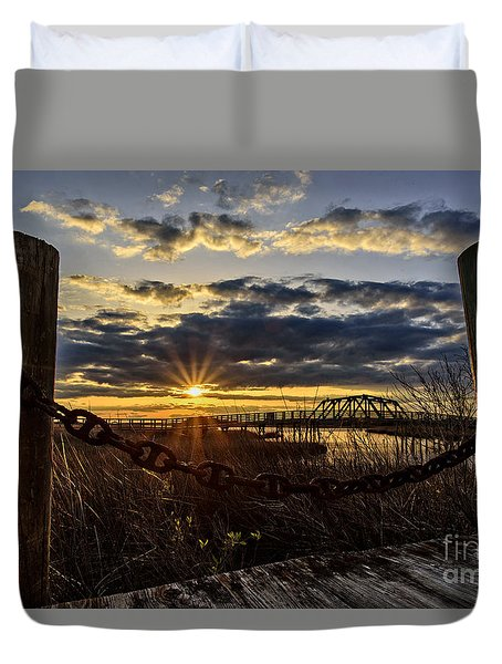 Chained View Duvet Cover