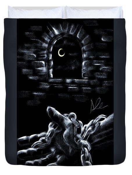 Chains Duvet Cover by Alessandro Della Pietra