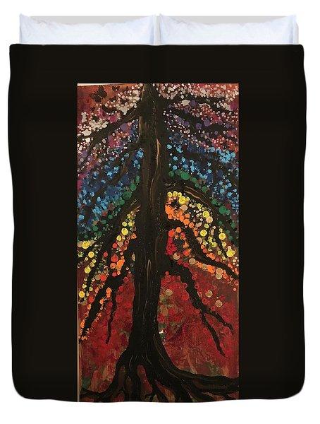 Chakra Tree Duvet Cover