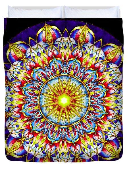 Chakra Zendala Duvet Cover