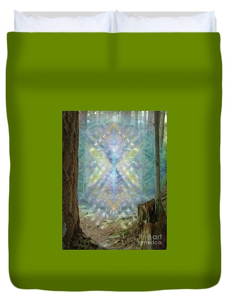 Chalice-tree Spirt In The Forest V2 Duvet Cover