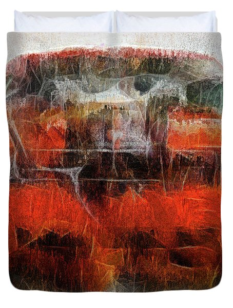 Challenger Wash Duvet Cover by Michael Cleere