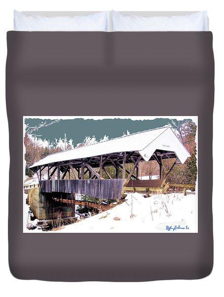 Chamberlain Bridge Duvet Cover