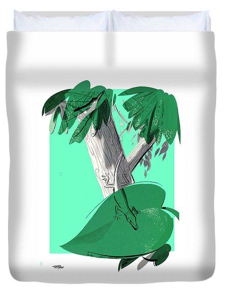 Chameleon Duvet Cover