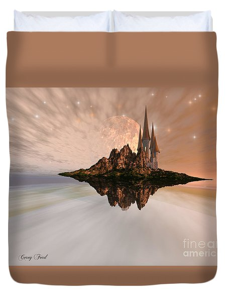 Chandara Duvet Cover by Corey Ford