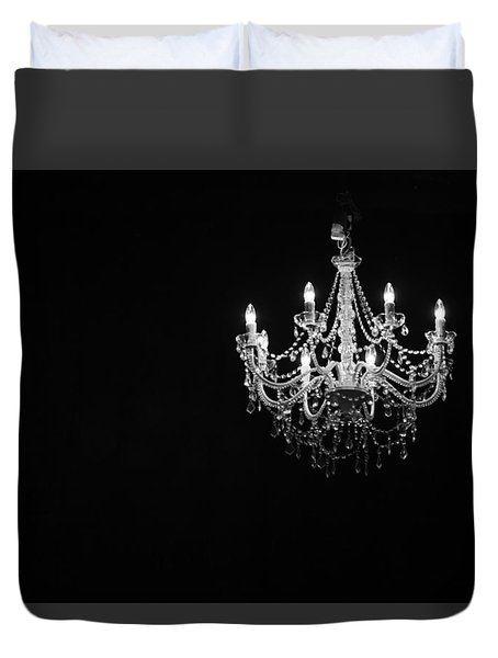 Chandelier  Duvet Cover by Ray Congrove