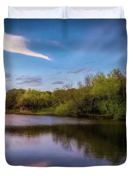 Chandler Lagoon Duvet Cover