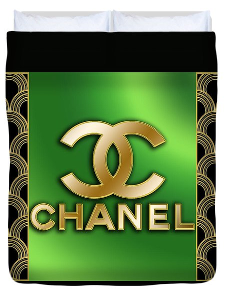 Chanel - Chuck Staley Duvet Cover by Chuck Staley