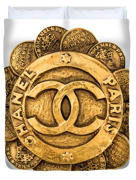 Chanel Jewelry-2 Duvet Cover