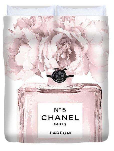 Chanel N.5 Perfume 9 Duvet Cover