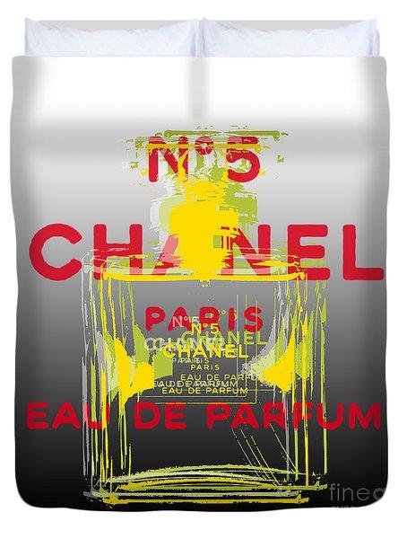 Chanel  No. 5 Pop Art - #1 Duvet Cover
