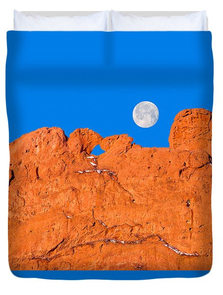 Chang-o, The Chinese Moon Goddess  Duvet Cover