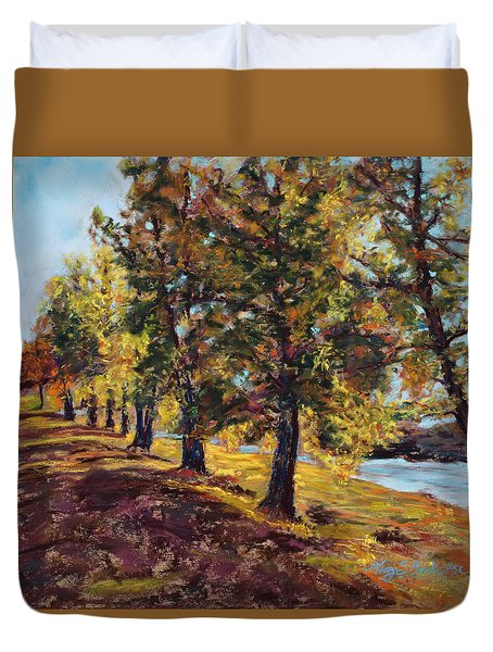 Changing Of The Guard Duvet Cover by Mary Benke