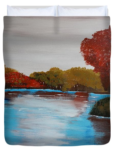 Changing Seasons Duvet Cover