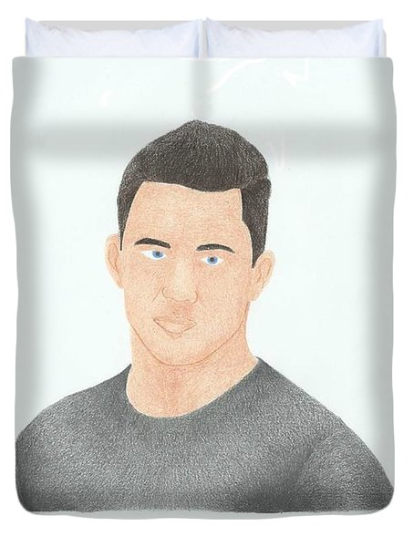 Channing Tatum Duvet Cover