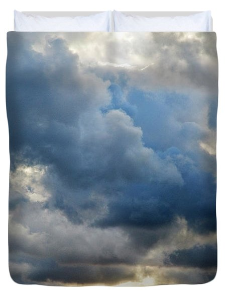 Celestial Light Duvet Cover