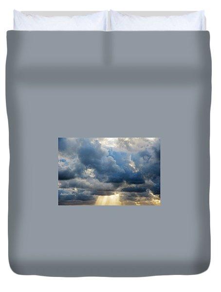 Celestial Light Duvet Cover