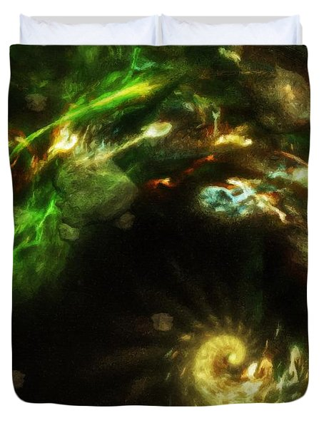 Chaos Theory Duvet Cover