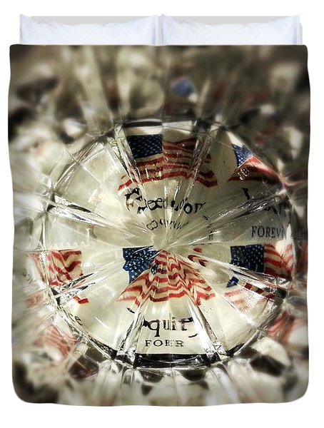 Chaotic Freedom Duvet Cover
