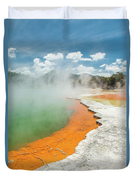 Champagne Pool Duvet Cover