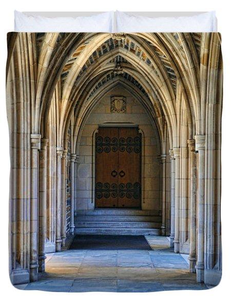 Chapel Arches Duvet Cover