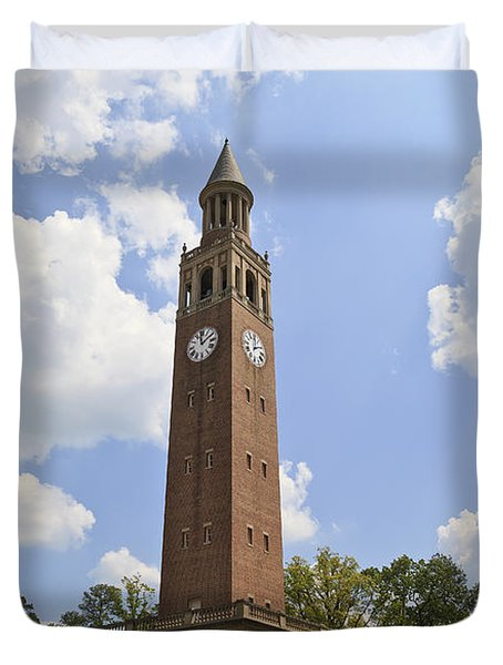 Chapel Hill Bell Tower Duvet Cover