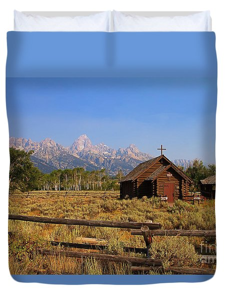 Chapel Of The Transfiguration Duvet Cover