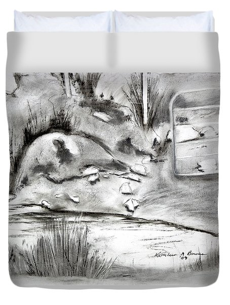 Pat's Field Duvet Cover
