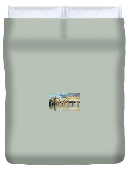 Charles Bridge Duvet Cover by Maciek Froncisz