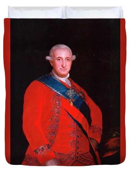 Charles Iv Duvet Cover