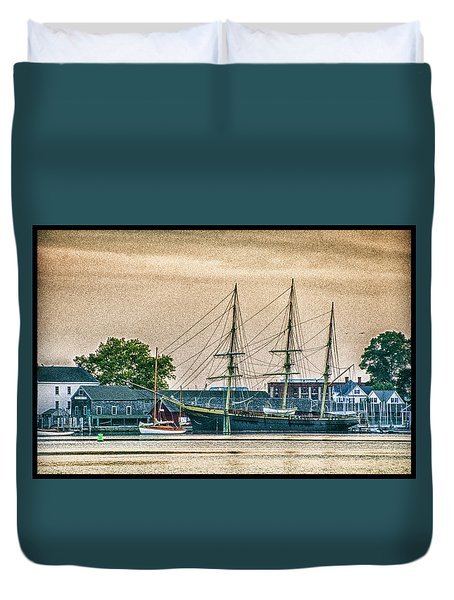 Charles W. Morgan #1 Duvet Cover