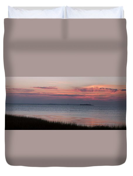 Charleston Bay Duvet Cover