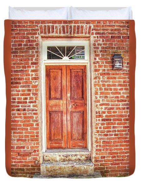 Charleston Doors 1 Duvet Cover