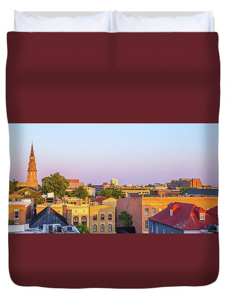 Charleston Glows Duvet Cover
