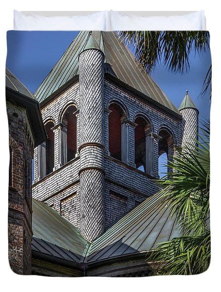 Charleston Historic Church Duvet Cover