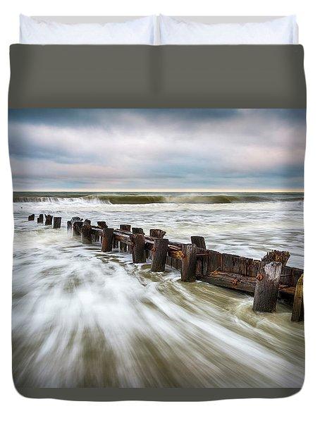 Charleston Sc Folly Beach - Push Duvet Cover