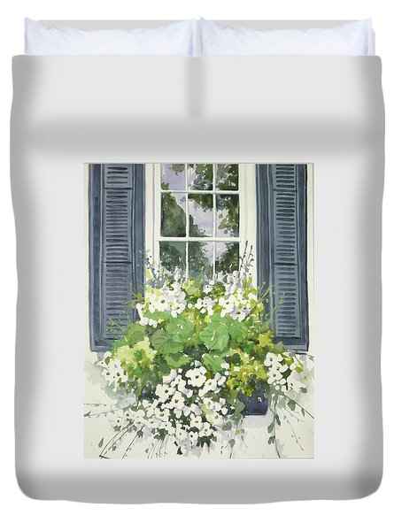 Charleston Windowbox Duvet Cover