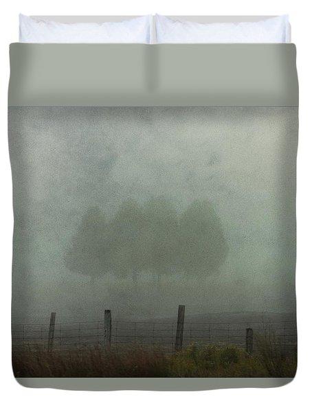 Charlevoix Fog Duvet Cover