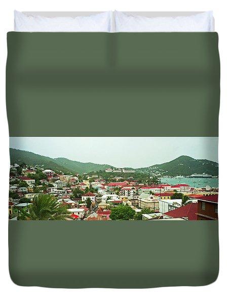 Charlotte Amalie 1994 Duvet Cover