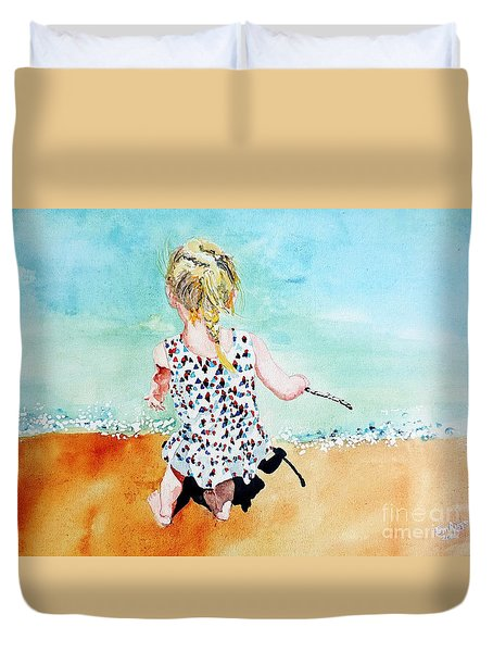 Charlotte By The Lake Duvet Cover