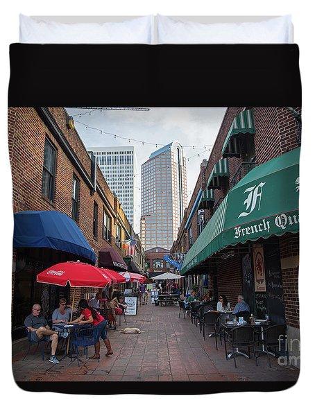 Charlotte, North Carolina Duvet Cover