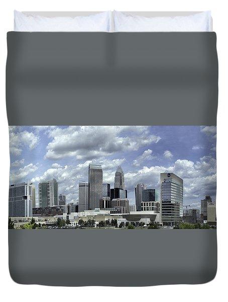 Charlotte Skyline Panorama 02 Duvet Cover