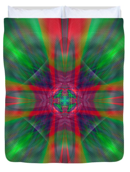Charmed Luminescence Duvet Cover
