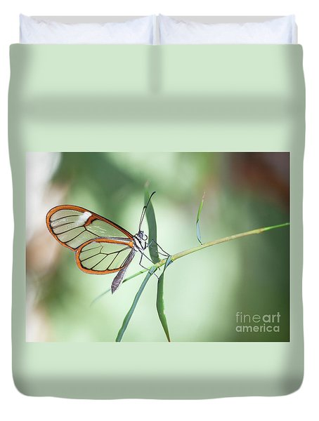 Charming Clear-wing Duvet Cover