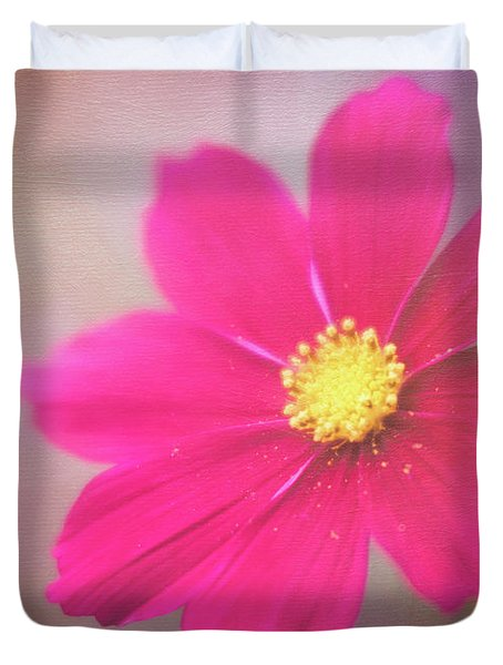 Charming Cosmos Duvet Cover