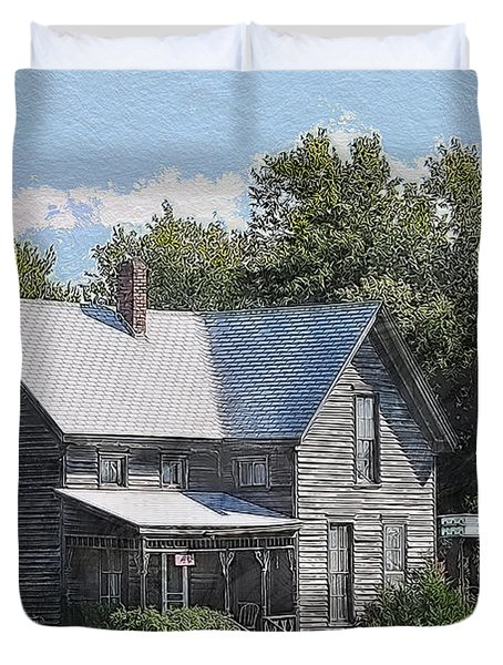 Charming Country Home Duvet Cover