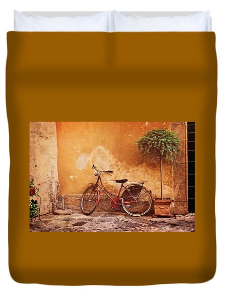 Charming Lucca Duvet Cover